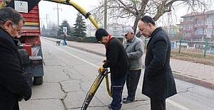 Başkan Saygılı belediye çalışmalarını inceledi