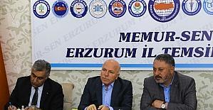 Başkan Sekmen Memur-Sen'e projelerini anlattı