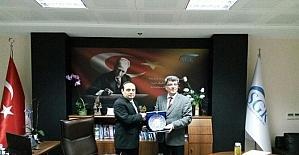 Başkan Yılmaz'dan SGK Çanakkale Müdürüne ziyaret