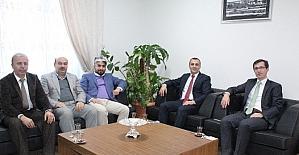 Başkanı Konak'tan, Dr. Başkan'a veda ziyareti