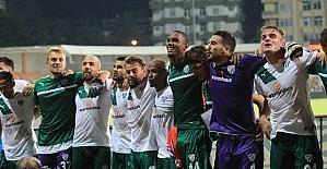 Bursaspor'da hedef üst sıralar