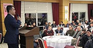 Çan süt üreticileri birliğinden besicilere konferans