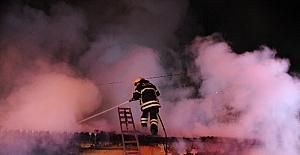 Çıkan yangın tüm mahalleliyi isyan...