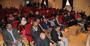 Cizre'de Dünya Engelliler Günü kutlandı
