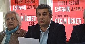 """DİSK Çukurova Bölge Temsilcisi Gündoğdu: """"Asgari ücret net 2 bin TL olmalıdır"""""""