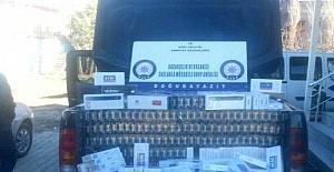 Doğubayazıt'ta sigara kaçakçılığı