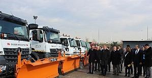 Düzce Belediyesi kar yağışı için hazırlıklarını yaptı