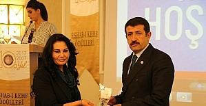 Ekinci'ye yılın belediye başkanı ödülü verildi