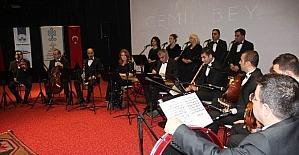 Elazığ'da Tanburi Cemil Bey anısına konser verildi