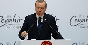 Erdoğan: Ekonomik darbeyle yıkmanın gayreti içerisindeler
