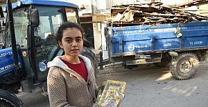 Evi yanan aileye Yunusemre Belediyesi sahip çıktı
