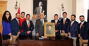 Fethiye GS'li İşadamları Derneği'nden Başkan Gürün'e ziyaret