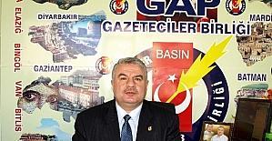 GAP Gazeteciler Birliği Genel Başkanı Kıymaz Yeniçağ Gazetesine yapılan saldırıyı kınadı