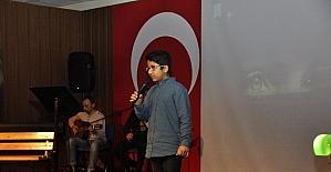 Gaziantep Kolej Vakfı Ortaokulunda şiir şöleni