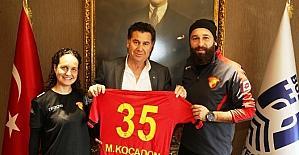 Göztepe Bodrum Futbol Okulu'ndan Başkan Kocadon'a ziyaret