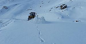 Hakkari'de 6 köy ve 17 mezra yolu ulaşıma kapandı