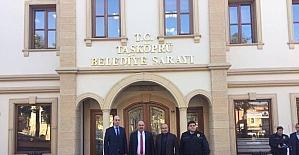 İl Emniyet Müdürü Karabulak, Belediye Başkanı Hüseyin Arslan'ı ziyaret etti