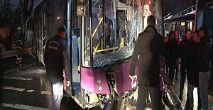 Kadıköy'de belediye otobüsü dehşeti
