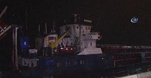 Kartal'da 2 gemi karaya oturdu