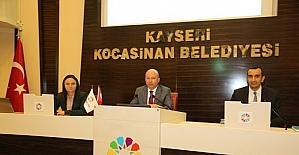 Kocasinan Belediyesi yılın son meclis toplantısını yaptı