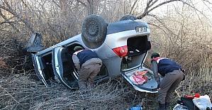 Kütahya'da trafik kazası: 2 yaralı