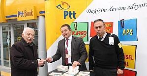 Mevlana haftasında PTT'den hediye kart