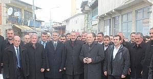 MHP İl Teşkilatı Aşkale'ye çıkarma yaptı