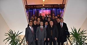 MHP Milletvekili Aydın'dan Çat Belediyesi'ne ziyaret