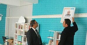 Müdür Aksoy'dan okullara ziyaret