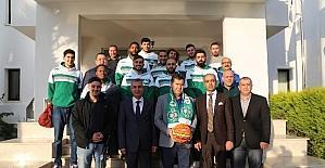 Muğla Ormanspor'dan Başkan Kocadon'a ziyaret