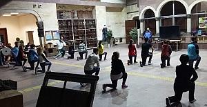 Nevşehir'de halk oyunları kursu açıldı