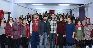 Öğrencilere meslek semineri