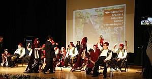 OMEK öğrencileri işaret dili ile İstiklal Marşı söylendi