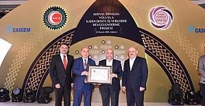 Ortahisar'a 'Kadın Dostu Belediye Ödülü' verildi