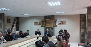 Osmaneli'de eğitim değerlendirme toplantısı yapıldı