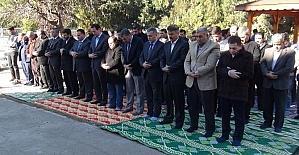 Osmaniye'de Halep için gıyabi cenaze namazı kılındı