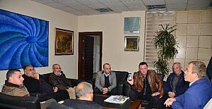 Oto galericilerden Akdeniz Belediyesi'ne ziyaret
