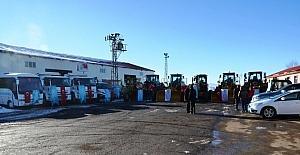 Palandöken Belediyesi araç filosunu güçlendirdi