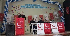 Saadet Partisinden 5. olağan kongresi.