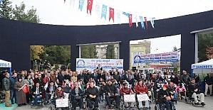 Şahinbey Belediyesi engelli vatandaşları unutmadı