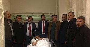 Şanlıurfa Valisi Güngür Azim Tuna konvoyunda kaza