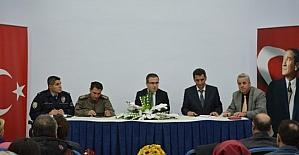 Saray'da Eğitim Koordinasyon toplantısı