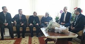 SGK Emekli Hizmetleri müdüründen şehit ailesine ziyaret