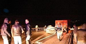 Sinop'ta kaza: 2 yaralı