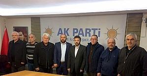 Söke AK Partinin ilçe başkanları...