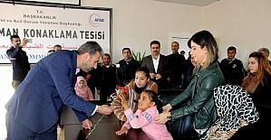 Suriyeli engelliler unutulmadı