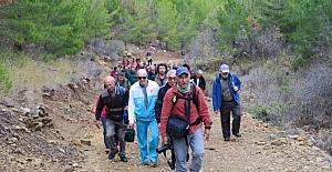 Tarihi Kervan yolunda ilk yürüyüş