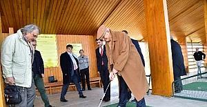 TÜRFAD Yönetimi Samsun Golf Sahası'nı gezdi