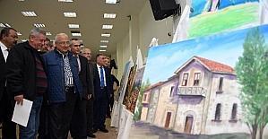 Uluslararası ressamlar 'Yöreler ve Kültürler' sergisinde buluştu