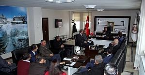 Vali Çınar birim amirleriyle toplantı yaptı